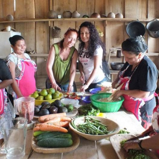 Un día en la comunidad Indígena BriBri. Learning Spanish