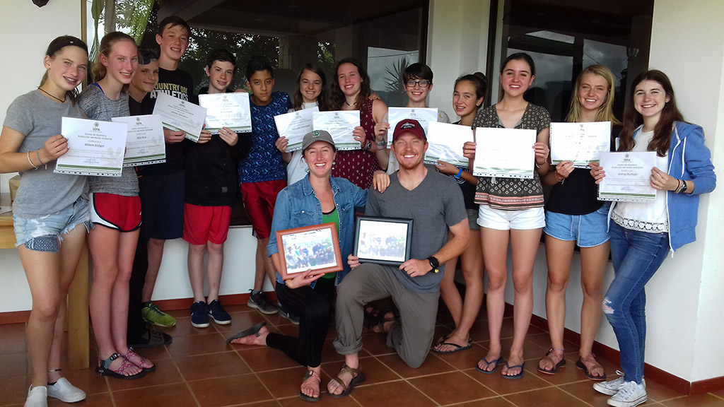 Summer Spanish Programs and teen camp in Costa Rica