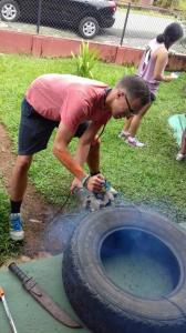 Volunteering to Miraflores School