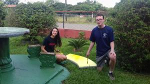 Volunteering to Miraflores School